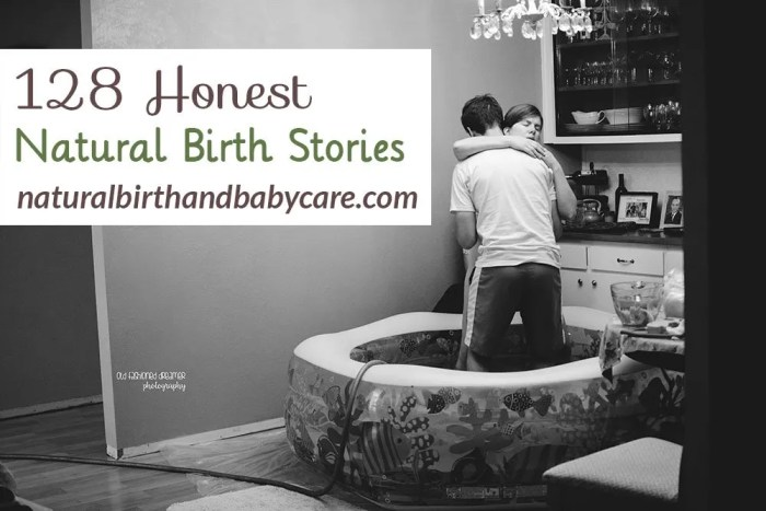 Honest Natural Birth Stories