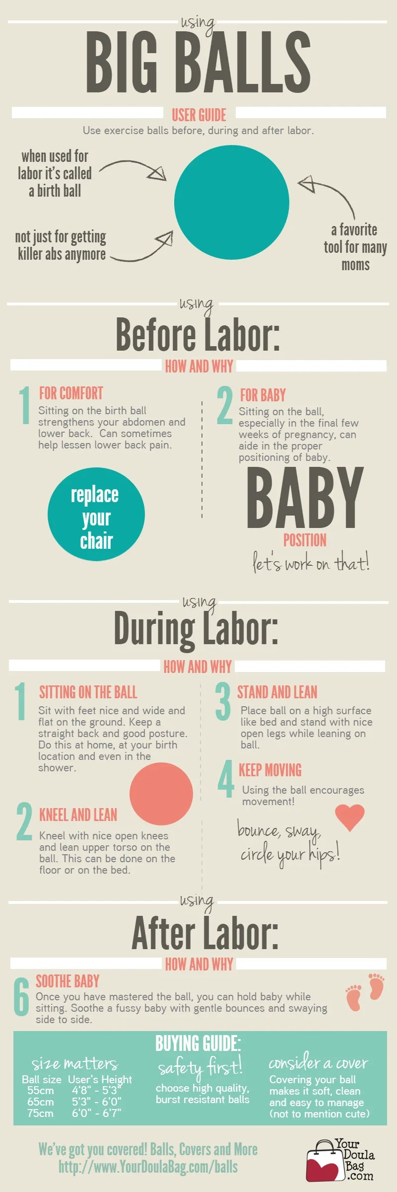 Using Big Balls in Labor (or Why You Need a Birth Ball ...