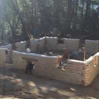 Yurok Native Reservation Earthbag Build