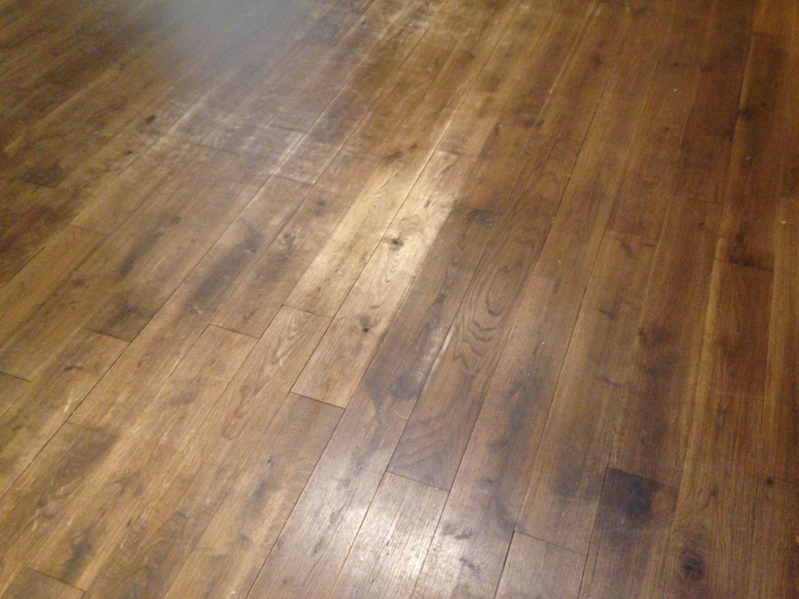 Sanding Engineered Oak Natural Floor Sanders