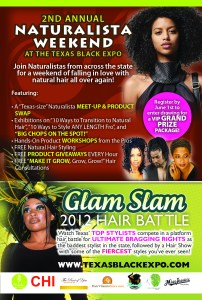 Naturalista Flyer 2012 202x300 Houston, TX Event  Naturalista Weekend at Texas Black Expo