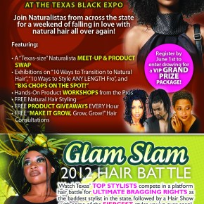 Houston, TX Event- Naturalista Weekend at Texas Black Expo