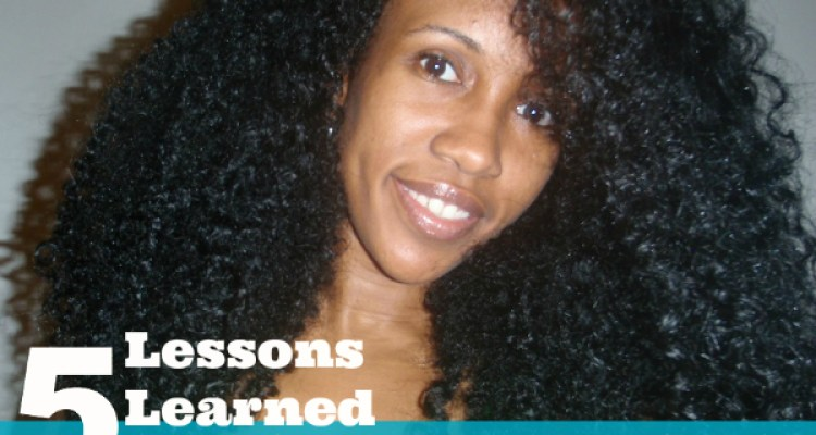 5 Things You'll Learn When Growing Long Natural Hair