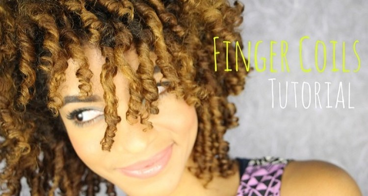 Finger Coils on Longer Natural Hair