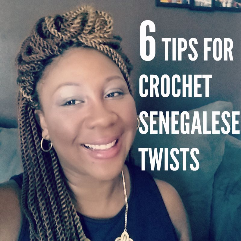 Crochet Braids Senegalese Hair : Tips for Crochet Senegalese Twists Using Pre-Twisted Hair