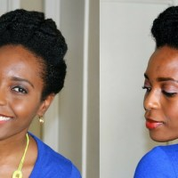 4 Quick Natural Hairstyles for 4C Hair (Done in 10 Minutes or Less)
