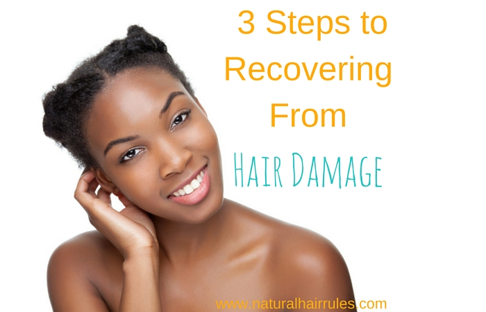 3 Steps to Recovering From Hair Damage