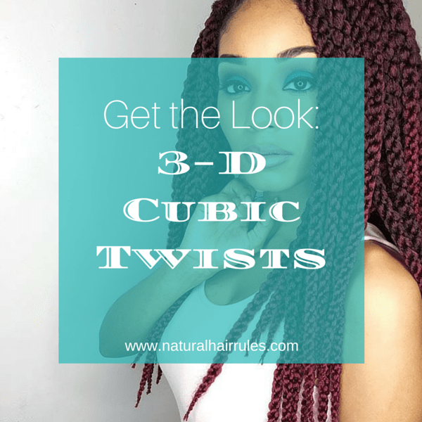 Spring Protective Styling with 3-D Cubic Twists