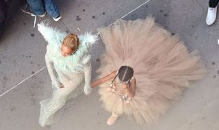 10 Looks of Beyoncé and Blue Ivy's Braids on VMA Red Carpet