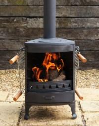 Hellfire GARDEN Cast Iron Stove Cooker BBQ Patio Heater ...