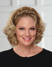 Braided Headband with Hair by Paula Young : Ladies ...