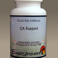 C3089 Evergreen Herbs CA Support Capsules 100 count Homeopathy Holistic Healthcare Natural Medicine Center Lakeland Central Florida