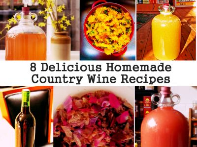 8 Delicious Homemade Country Wine Recipes