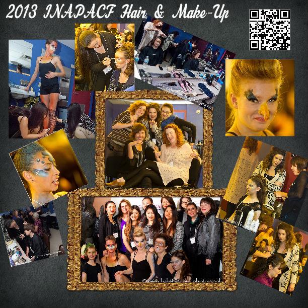 Hair and make up 2013 poster