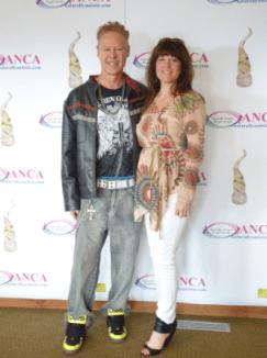 2013 kick-off Duane Burnett with Janet Panic