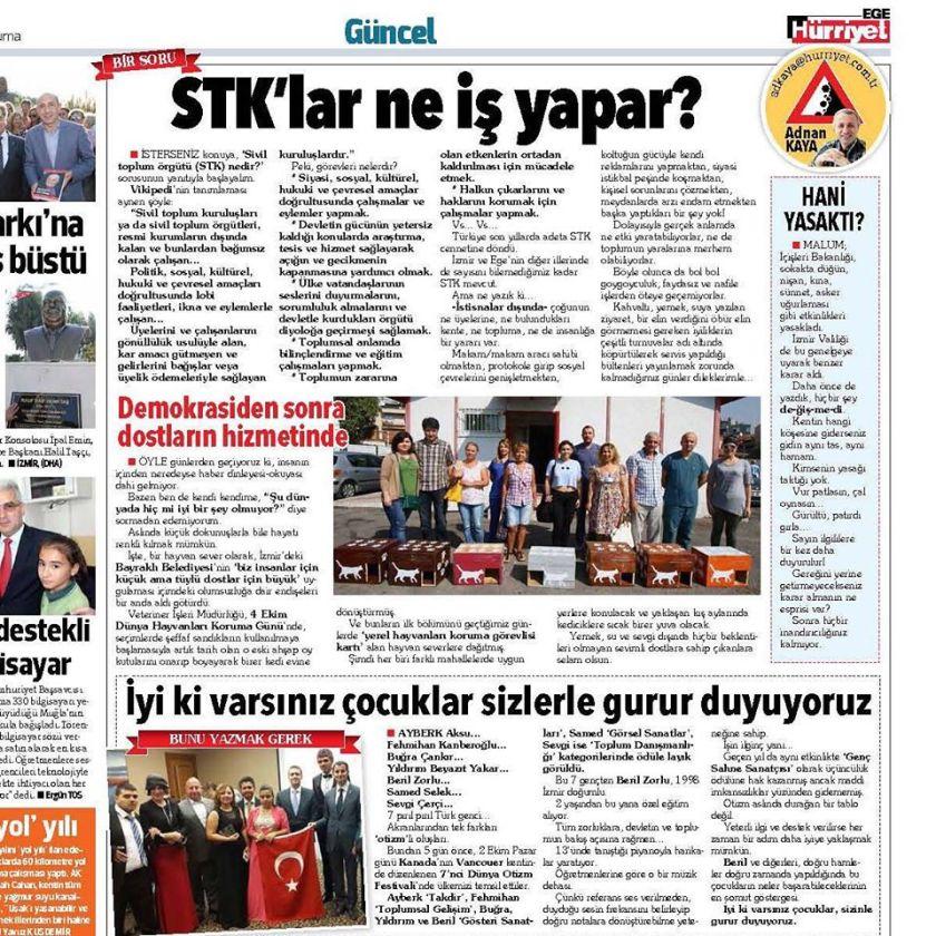 Emel presss release Turkey