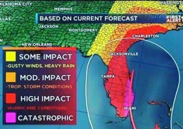 Hurricane Irma headed for \u201ccatastrophic\u201d impact\u2026 fuel shortages