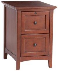Alder McKenzie File Cabinet | Natural Unfinished Furniture