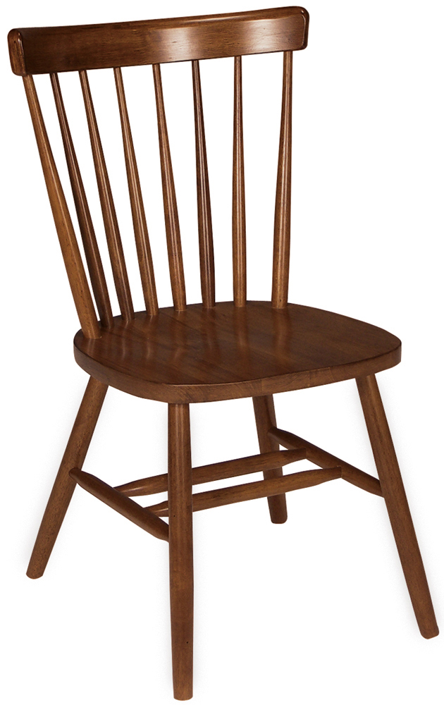 Parawood Copenhagen Chair Espresso Natural Unfinished