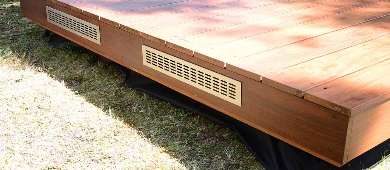 Conseils de pose terrasse bois pour une installation de qualité - Epaisseur Lambourde Terrasse Bois