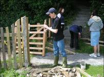 Making a gate - Settlebeck School