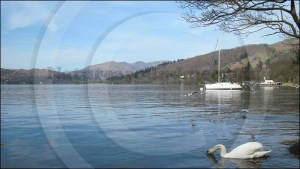 Windermere and the Lake District Fells