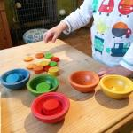 Plan Toys Sort & Count Cups Review