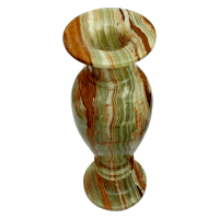 Multi Green Onyx Decorative Flower Vase - Natures Artifacts