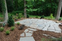Walkways & Dry Stream Bed Villanova, PA | Naturescapes