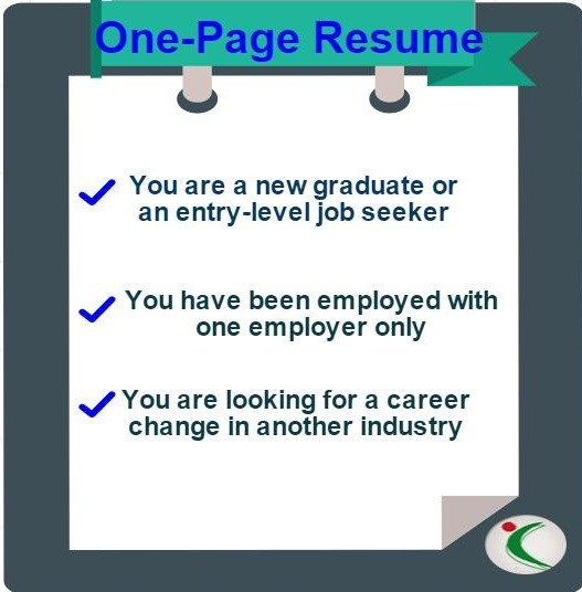 CV Length - How Many Pages Should a Resume(CV) Be - - cv one