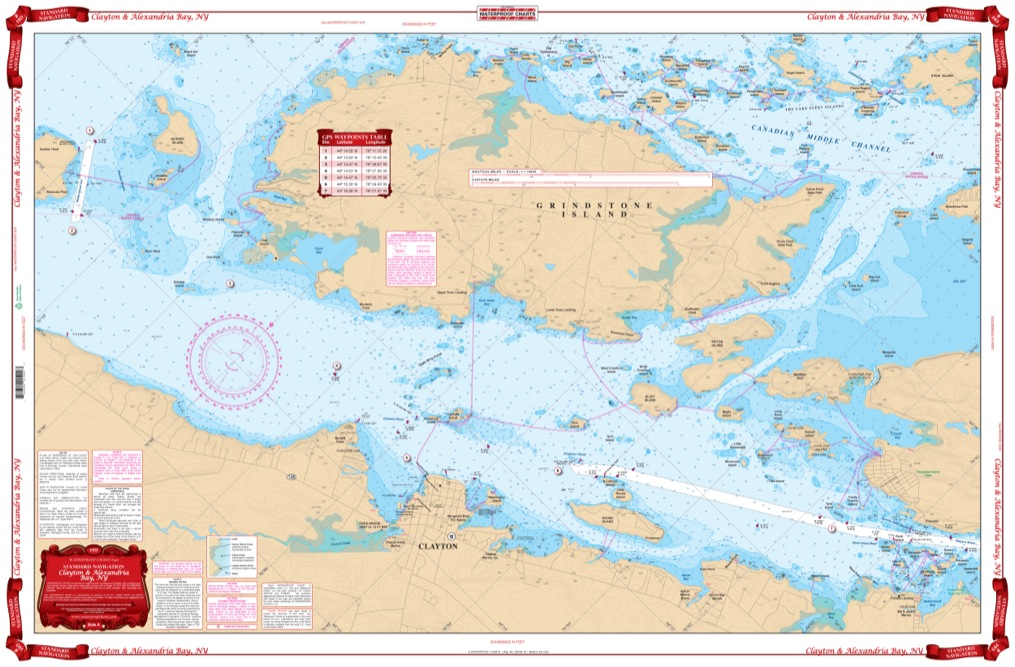 Coverage of Northern Chesapeake Bay Navigation Chart 24