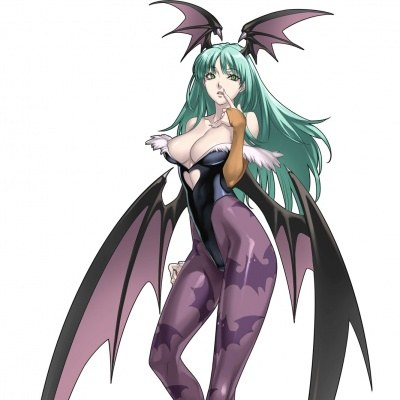 morrigan aensland and iron man