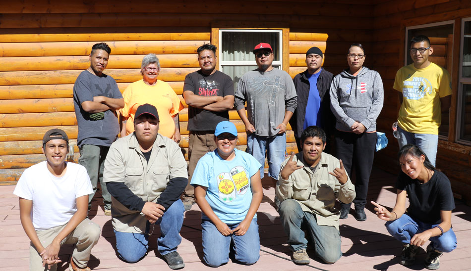 SkillsUSA NTU Chapter Assists Wolf Sanctuary Through Community Service