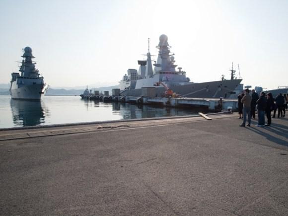 Andrea Doria de volta a Spezia - foto 2 Marina Militare