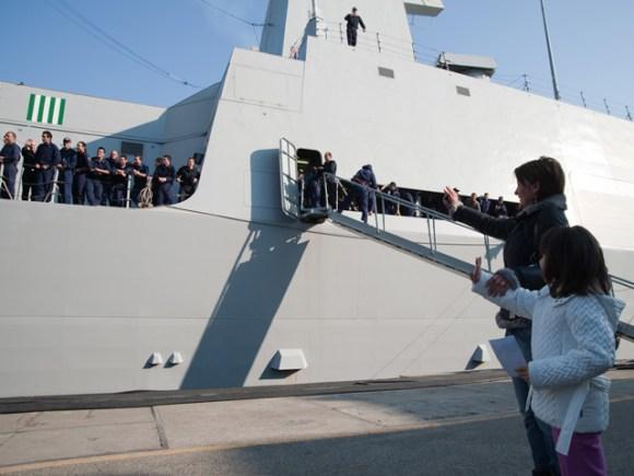 Andrea Doria de volta a Spezia - foto 3 Marina Militare
