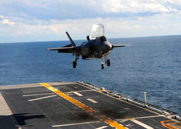 F-35B foto USN