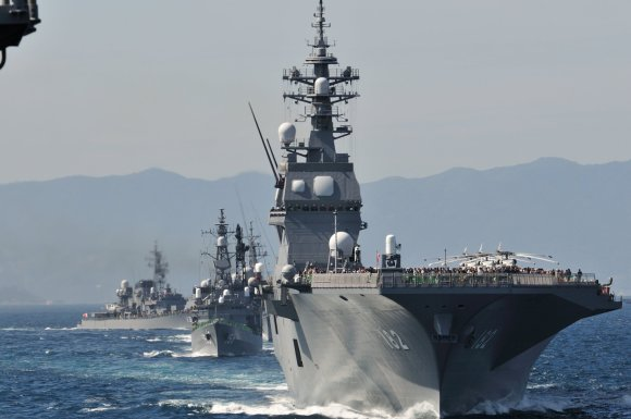 JMSDF Fleet Review 2012 - 30