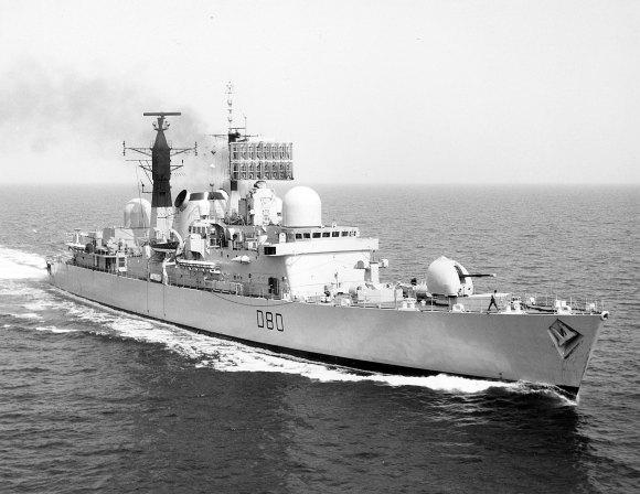 HMS Sheffield 4
