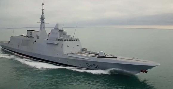 FREEM Normandie em provas - cena vídeo DCNS