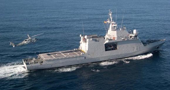 BAM - OPV Meteoro - foto Armada Espanhola