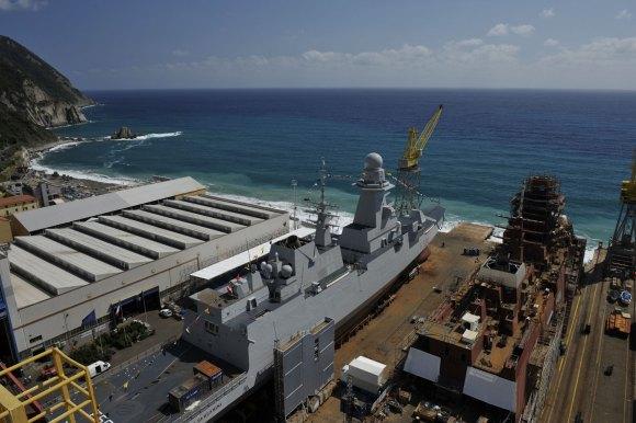 FREMM - construção na Itália - foto 6 Marinha Italiana
