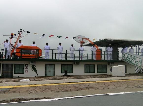 Incorporação AvHdFlu Caravelas - foto via prefeitura de Ladário
