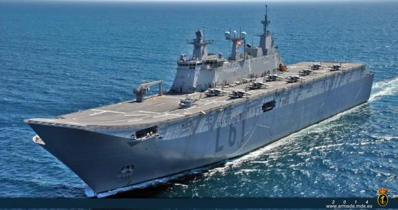 Juan Carlos I - foto Armada Espanhola