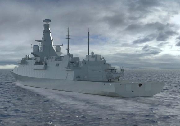 Type 26 - imagem 3 BAE Systems