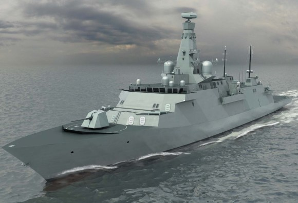 Type 26 - imagem BAE Systems