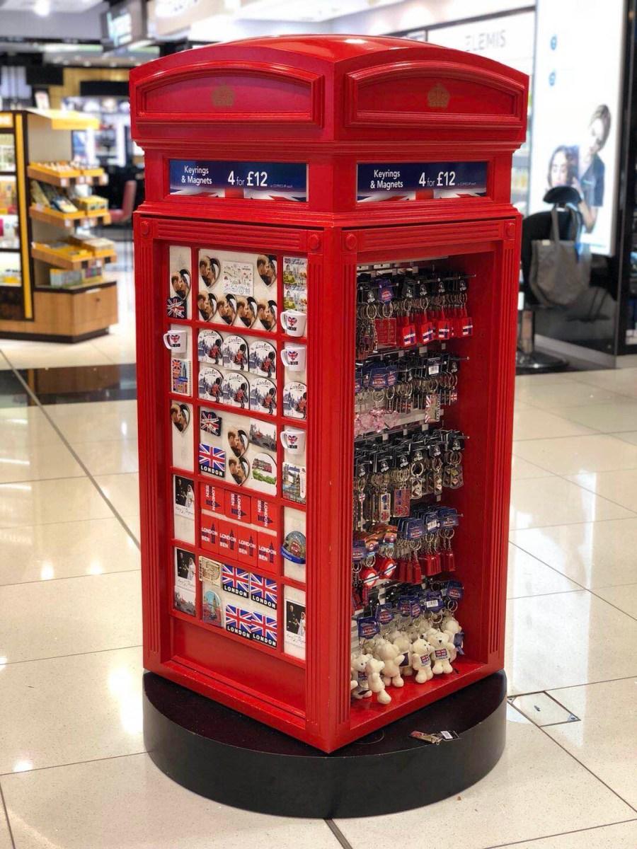 ロンドンヒースロー空港お土産ガイド2018、イギリス発の香水・バングブランド、手頃雑貨お菓子