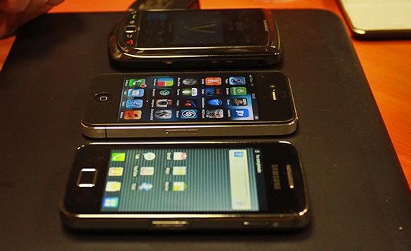Fortalezas y debilidades de iPhone, Android y Blackberry