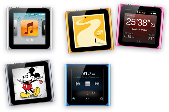 Relojes Inteligentes - iPod Nano de Apple