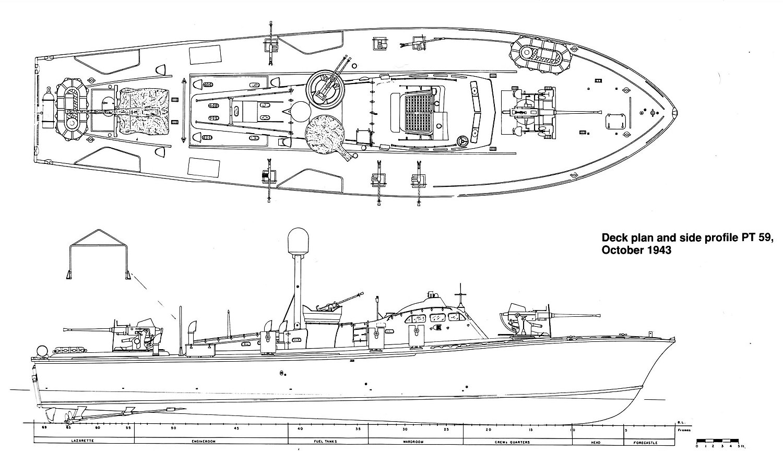 pt boat schematics