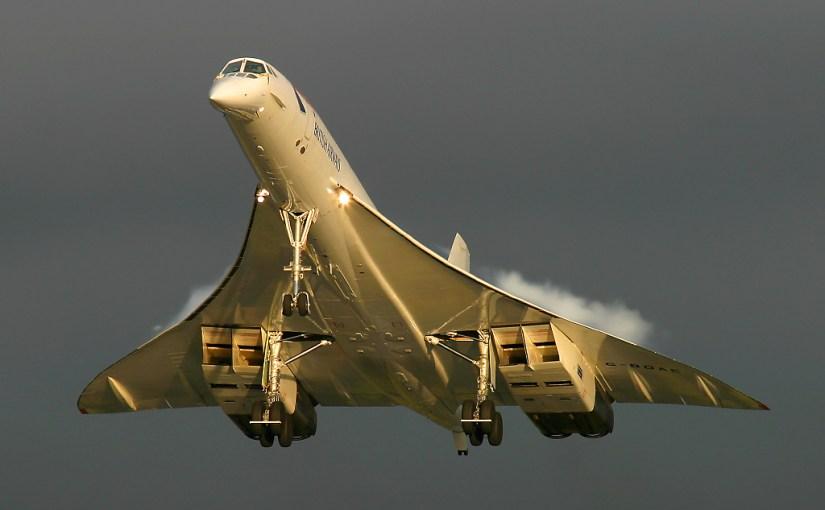 Last flight of the Concorde
